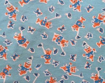 Vintage Cotton Childrens Pillowcase 46cm x 71cm
