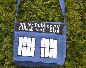 Dr. Who Tardis Messenger Bag (Reversible)