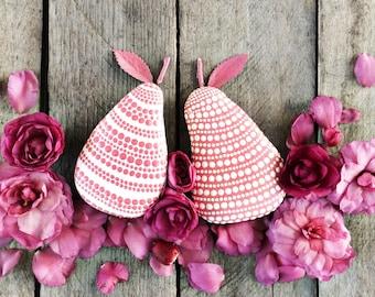 Pair of Pink Pears