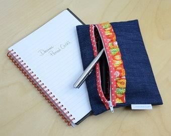 Denim Pencil case