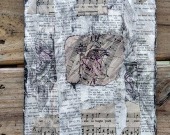 Vintage Heart Mixed Media