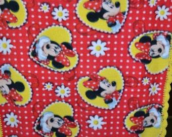 Minnie Mouse Fleece Baby Blanket