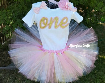 First Birthday Tutu Set