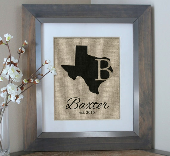 Personalized Housewarming Gifts Family Name Signs