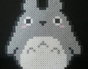 Totoro Pixel Art Bead Sprite Kandi