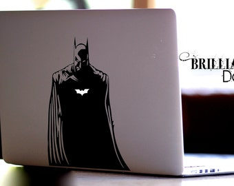 Batman, Dark Knight, Batman Decal, Dark Knight Decal, Batman Macbook Decal, Batman Sticker, Dark Knight Sticker,  MacBook Pro, Gift
