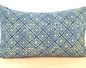 Indian, Indigo, Block Print, Textile, Cover