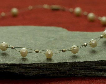 Jewelry for Bema Pearl and Silver Necklace
