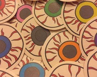 Harajuku Eyeball Stickers - Pick The Amount!