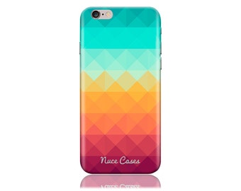 Clearance! For Samsung Galaxy S6 Case #Pixel Waves Cool Design Hard Phone Case