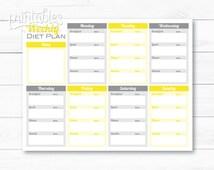 jenny craig menu planner pdf