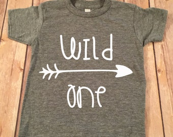 Wild One Shirt, 1st Birthday Shirt, 1st Birthday Boy Shirt, Boys Birthday top, Birthday shirt, 1st Birthday Boy Shirt, Smash Cake Shirt