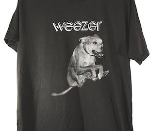weezer tshirt tour tshirt