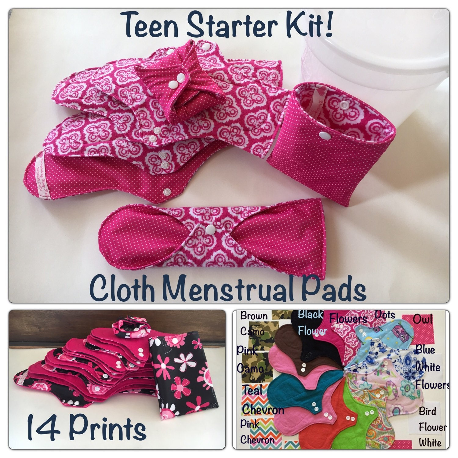 Best menstrual pads for petite teenagers