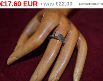 winter sales Vintage sterling silver ring from Norway tjan179