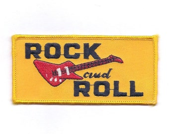Vintage Rock and Roll with Guitar Patch