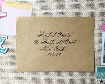 Calligraphy Envelopes (Cherry Style)