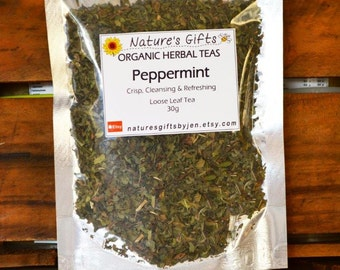 Peppermint - Organic Herbal Tea