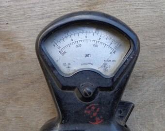 Soviet retro vintage amper meter voltmeter hand tool 1969.