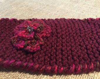 """Handmade knitted Headband """"The Caity"""" 0006"""