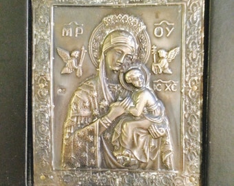 Madonna and Child Icon