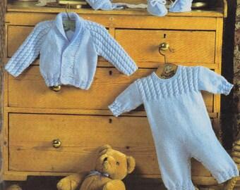 baby set dk knitting pattern 99p pdf