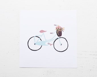 Vintage Bicycle Print