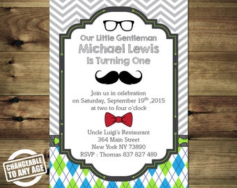 Little Man Mustache Birthday Invitation Bday_inv_048