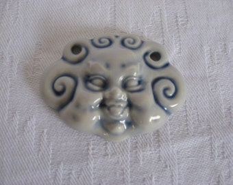 Arje Griegst - Jewelry- Royal Copenhagen porcelain pendant - Art and Collectibles - Made in denmark- Mid century modern