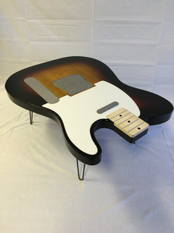 guitar coffee table by scottscoffeetops on etsy. Black Bedroom Furniture Sets. Home Design Ideas