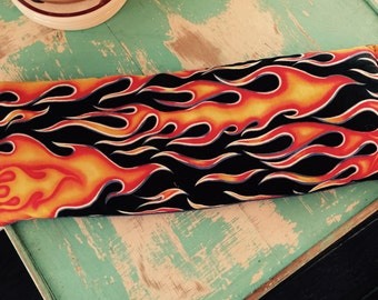 Rice heating pad peppermint scented essential  oil with flames