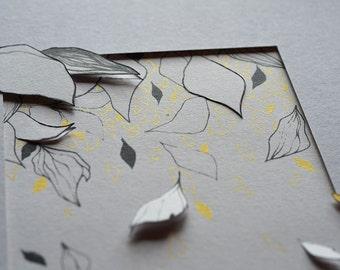 Screenprint and paper cut_2