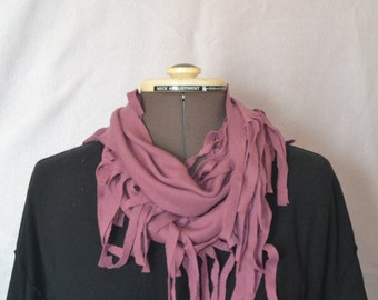 T-Shirt Infinity Scarf, Loop Scarf, Summer Scarf, Jersey Scarf, Trendy Scarf, Fashion Scarf, Recycled Material, Coloful, Comfortable