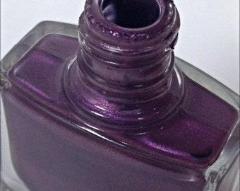 Nail Polish- Nail Lacquer- Purple Nail Polish- 5 Free Nail Polish- Ambitious