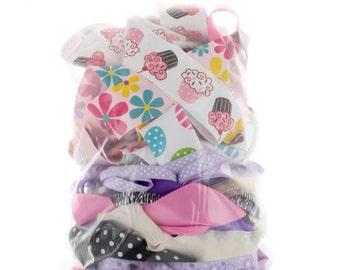 Printed and Specialty Ribbon Grab Bag - 1/2 LB