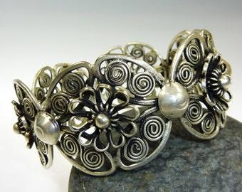 Miao Bracelet, Silver bracelet, Tribal Bracelet