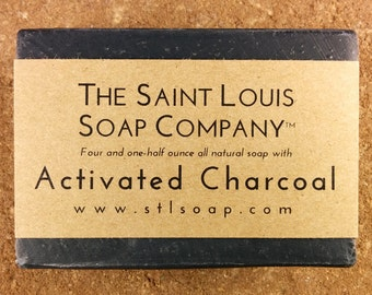Save 10% on 4 Bars of Activated Charcoal Soap, our most popular item!