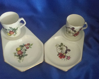 Beswick Afternoon Tea Cup and Side Scone/Crumpet Plate .