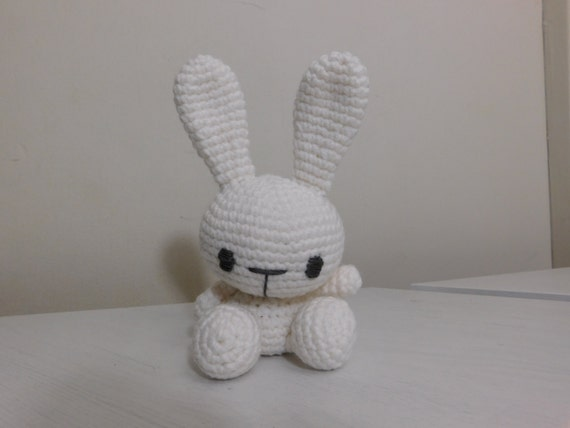 Etsy Amigurumi Bunny : Amigurumi bunny crochet bunny plushie by misscrazyhandmade ...