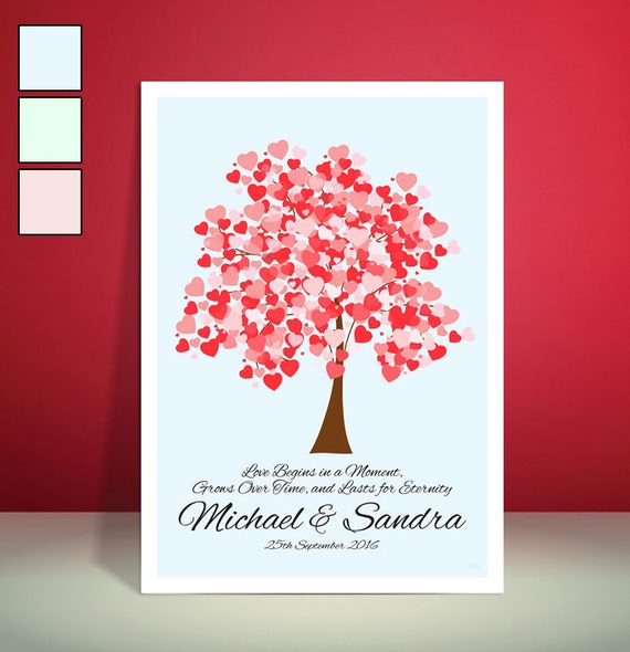 Personalised Mr & Mrs Wedding Gift // Anniversary Gift // Engagement Gift // Unique Art Print // Available in 3 Colours