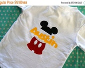 Presidents Day Sale Mickey Mouse Personalized Kids Shirt - Disney Inspired