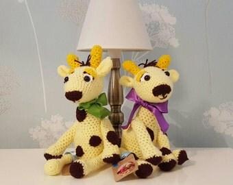 Amigurumi soft toys Giraffes