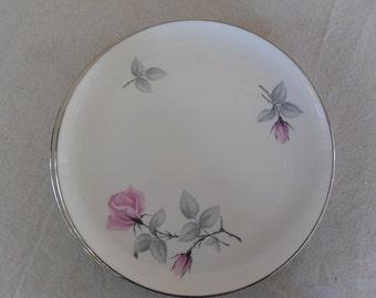 """Vintage Syracuse China """"Bridal Rose""""  2 Dinner Plates"""