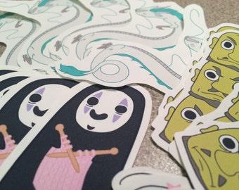 Spirited Away Sticker Set