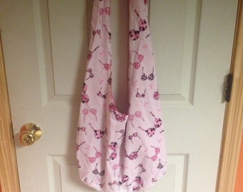 Breast Cancer Bra Hobo Bag