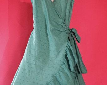 SALE! Betsey Johnson Swim Coverup wrap dress size M