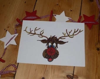 Rudolph - Christmas Greetings card