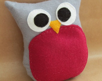 Owl Plush, House Decoration, Gift for Owl Lovers