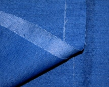 Extra wide mid blue denim fabric, medium weight, jeans material, large remnant more than 2m, trouser fabric, tailor fabric, jacket fabric,