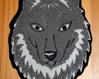 Grey Wolf Patch